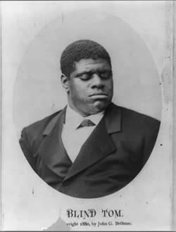 Blind Tom Wiggins Portrait