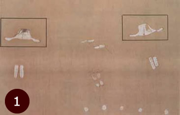 29,000 year old cave painting from Itolo Tanzania showing UFOs.